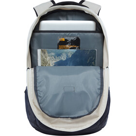 The North Face Jester Backpack Rainy Day Ivory Dark Heather/Wheathered Black